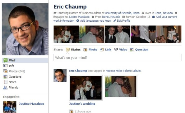 facebook eric chaump professional diversification social media network personal branding